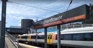 Auchenflower train station